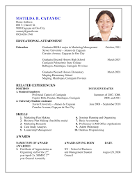 ... 81 Mesmerizing How To Create A Resume On Word ...