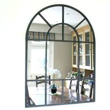decorative window mirror with shutters wall decor medium size of home arched wood framed mirrors french