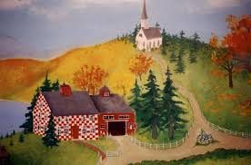 in the style of grandma moses