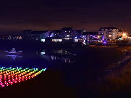 Festival Of Lights Irvine In Pictures Irvine Harbours Festival Of Light Sees 15 000