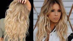 Beach Wave Hair Style big sexy messy waves tutorial with extensions lustrelux youtube 4777 by wearticles.com