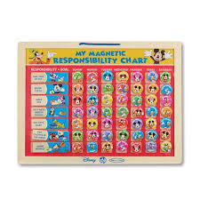 Mickey Mouse Clubhouse My Magnetic Responsibility Chart By Melissa Doug Walmart Com