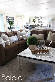 three piece sectional slip cover