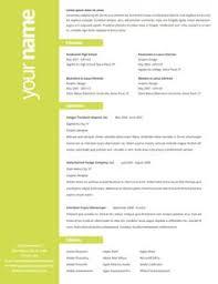 Interesting Resume Formats 4 Creative Free Printable Templates