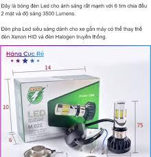 Đèn pha led 6 tim 35w siêu sáng dành cho xe máy - Bảo hành 1 đổi 1- Shop  Hàng Cực Rẻ