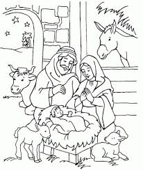 nativity coloring sheet unusual nativity coloring sheet free printable pages for kids best