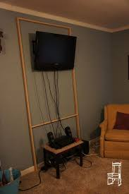 hiding tv cords on wall hide tv wires