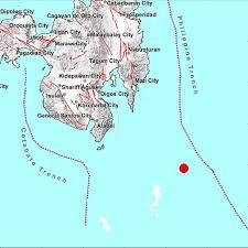 The quake could be felt as far away as the capital manila and the island of mindoro. Magnitude 7 1 Earthquake Hits Sea Off Davao Occidental