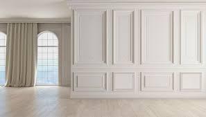 wainscot wall panels white wall