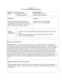 Pro Forma Cash Flow Analysis