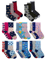 <b>Ladies</b> Undercover <b>Cotton</b> Rich Pattern Design Ankle Socks 6 or <b>12</b> ...