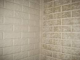 wallpaper faux cinder block wallpaper