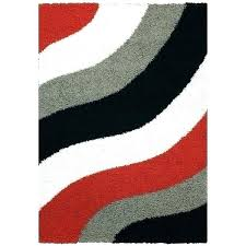 red black and grey rug area rugs white