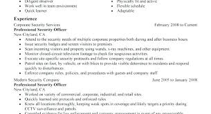 Security Job Resume Security Job Resume Information Security Officer ...