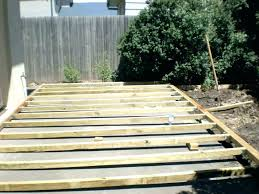 post deck over concrete paint colors brave building a save this cutaway shows how to