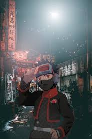 Akatsuki Obito, anime, city, hypebeast ...