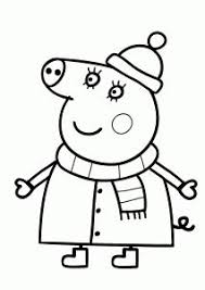 Small Picture Peppa pig coloring pages for kids printable free Peppa pig