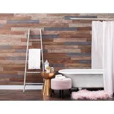 press vinyl plank wall decor