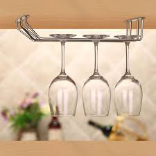 Wine Glass Hangers Under Cabinet Online Get Cheap Wine Glass Rack Aliexpresscom Alibaba Group
