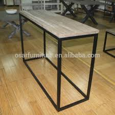 metal hall table. Hall Furniture Wood Metal Leg Industrial Style Console Table A