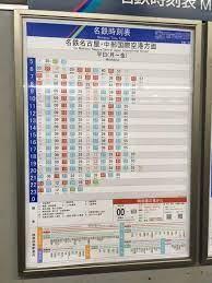 名古屋 駅 時刻 表