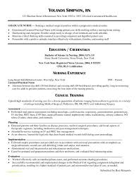 Rn Bsn Resume With Graduate Nurse Resume Examples Examples Of