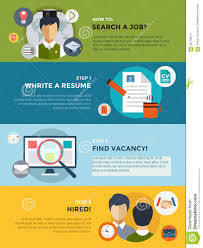 job search after university infographic students stock vector job search after university infographic students