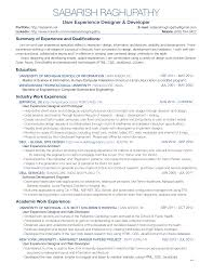 Free Interaction Ux Designer Resume Templates At