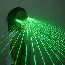 แว่นตาเลเซอร์ LED สำหรับงานปาร์ตี้