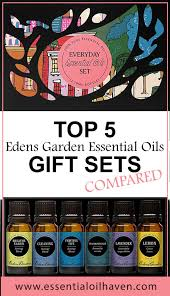 Edens Garden Young Living Comparison Chart Edens Garden Essential Oil Set Which Oil Is In Which Set