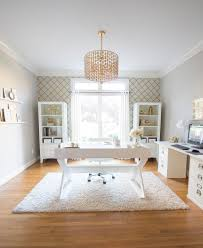 home office white. Wonderful Office One Room ChallengeWhite And Gold Home Office For White E