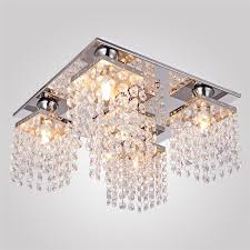 full size of light decoration ideas luxury flush mount ceiling light designed with crystal glass beads