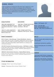 Modern Resume 01 | Curriculum Vitae