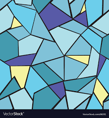 Mosaic Pattern Beauteous Mosaic Pattern Royalty Free Vector Image VectorStock