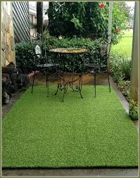 fake grass rug ikea red black artificial turf round outdoor cleanup easier than you think fake grass rug
