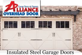 Modern Garage Door Choices Insulated Steel Aluminum Polyurethane