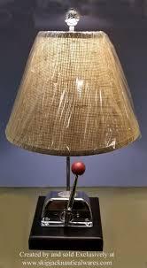 morse binnacle boat control nautical table lamp