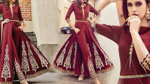 Latest Designer Dresses Designs Indo Western Style Wedding Party