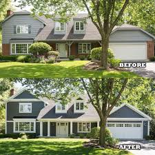 Home Exteriors Before And After Style Interesting Decorating Ideas
