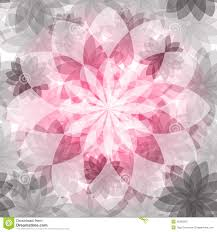 Bloemen Roze Grijs Naadloos Patroon Vector Illustratie Illustratie