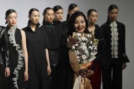'Xinjiang cotton <b>is my love</b>': Patriots on show at China Fashion Week ...