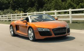 2014 Audi R8 4.2 Spyder Test – Review – Car and Driver