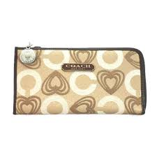 Coach Egyptian Wall Painting Large Black Wallets EEA.  202.51  41.5579%  off. Coach Heart Charm Large Khaki Wallets EEE
