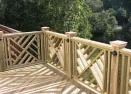 Stunning Wood Porch Railing Designs Home Design Wood Deck Plans