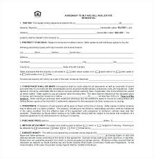 Sample Real Estate Purchase Agreement Template | Nfcnbarroom.com