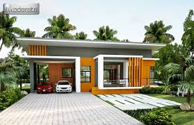 2 car garage one y house concept