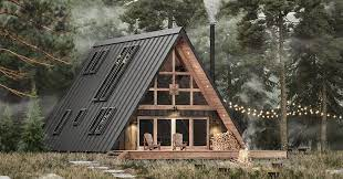 affordable a frame cabin in a box concept