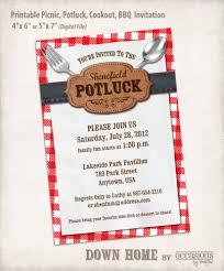 Office Bridal Shower Invitation Wording Printable Picnic Potluck Cookout BBQ Invitation Digital File 22