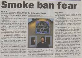 how to write newspaper articles writing for newspapers see  christopher fielden newspaper article smoking ban mercury 9th 2004