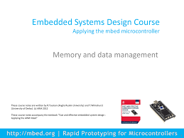 Embedded Systems Design Notes Embedded Systems Design Course